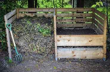 Recyclons les déchets verts du jardin pour notre compost !