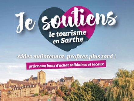 Soutenez le tourisme en Sarthe !