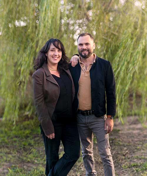 Ingrid et Tony du Jardin des 4 saisons